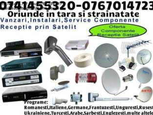 Antene satelit Tv si Radio fara abonament 0767014723, 0741455320